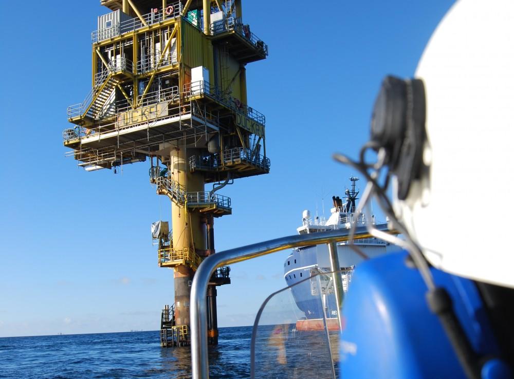 Boat landing - Offshore installation - SubC Partner
